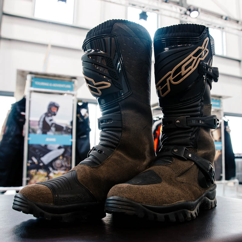 TCX's adventure boots are robust yet remain light in weight