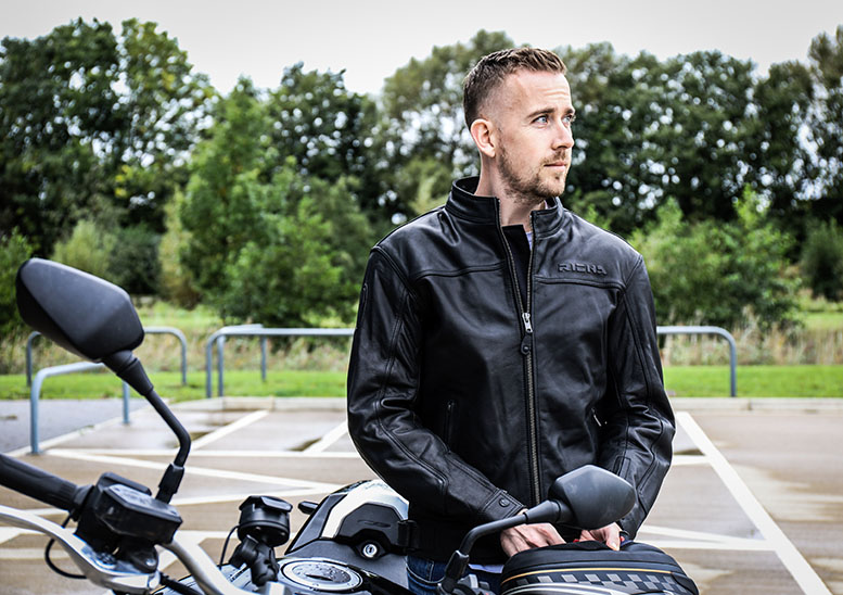 Five of the best... classic leather motorbike jackets
