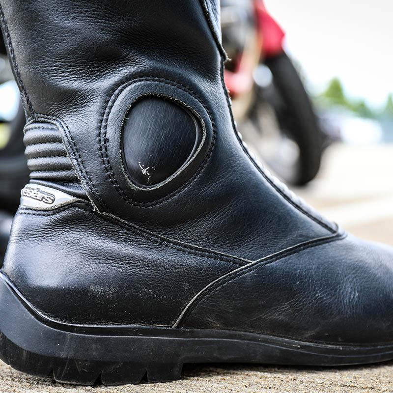 Daytona Evo Voltex Gore Tex motorcycle boots review SBS Mag
