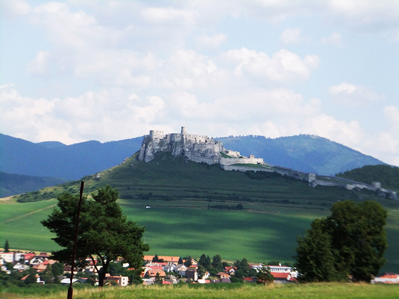 Old castles can be found overlooking hamlets across Slovakia