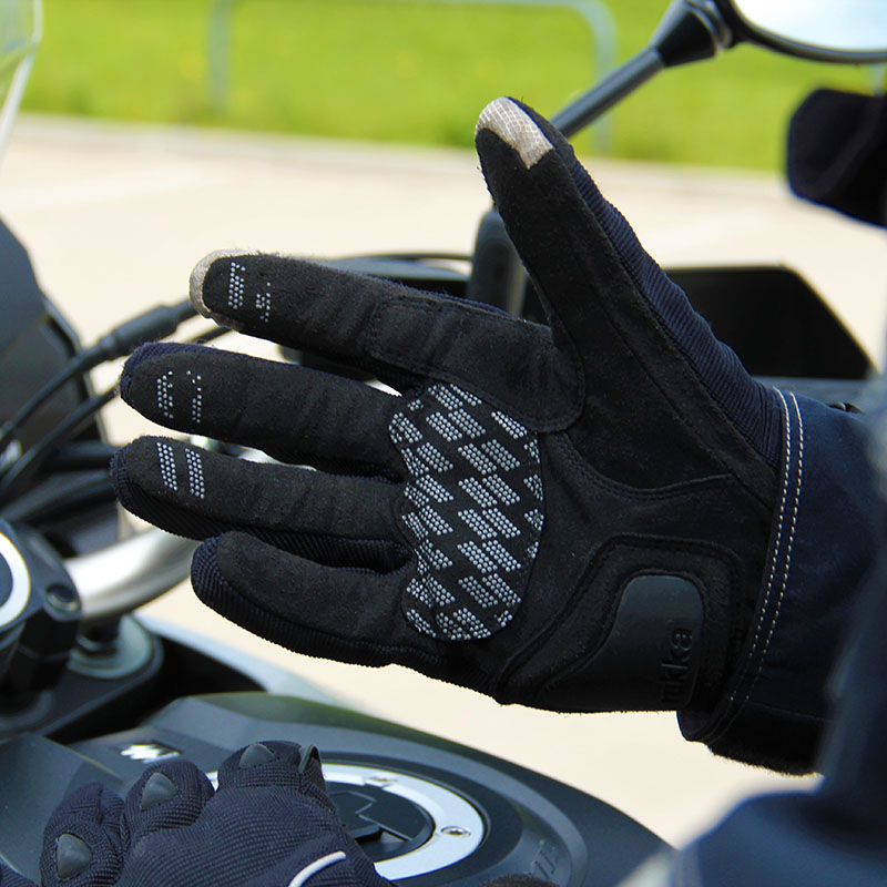 Touchscreen fingertips make using sat-navs or smartphones easier while wearing the gloves