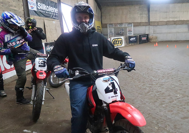 Who'd have thought 100cc and a barn could be this much fun?