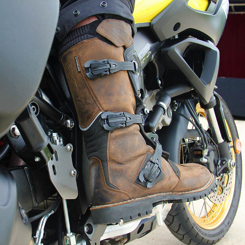 As well as being great on the bike, the Drifter boots perform well when walking around during riding breaks