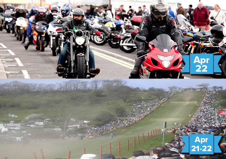 The best biking events for Apr 19-26 and beyond