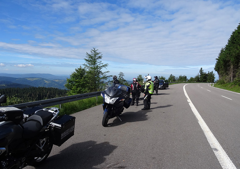 Enjoy the steep and twisty roads of the Black Forest High Road