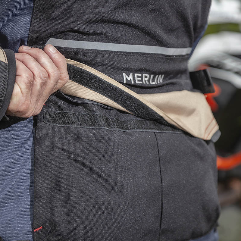 A map pocket on the back of the jacket provides lots of carrying room