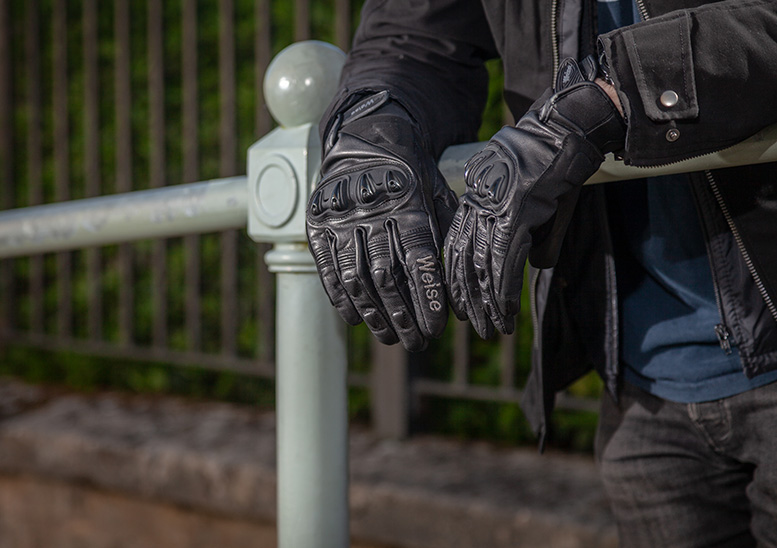 Five of the best... short leather motorcycle gloves up to £50