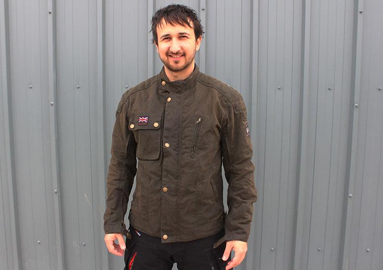 Merlin Stafford Airbag Ready wax jacket
