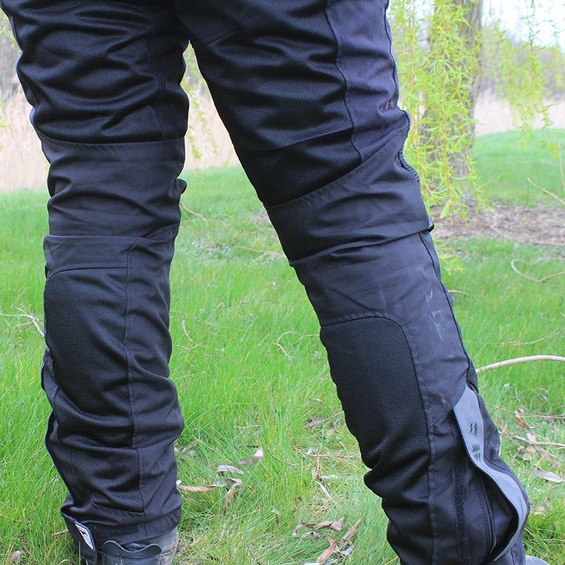 There are also four mesh panels on the back of the trousers for ventilation