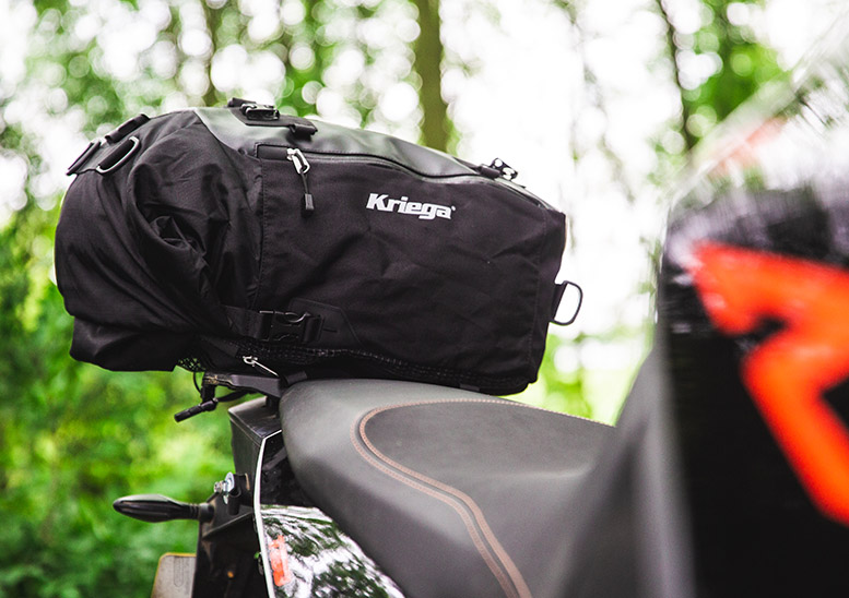 Five of the best... motorcycle tailbags