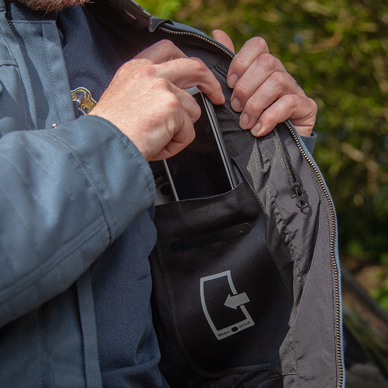 The waterproof internal pocket is handy, and does the job it promises