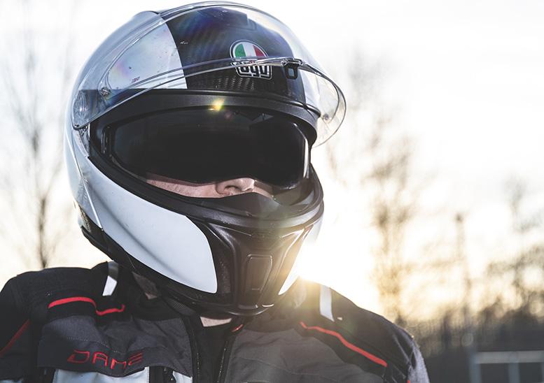 Agv Carbon Sports Modular Helmet Review Sbsmag