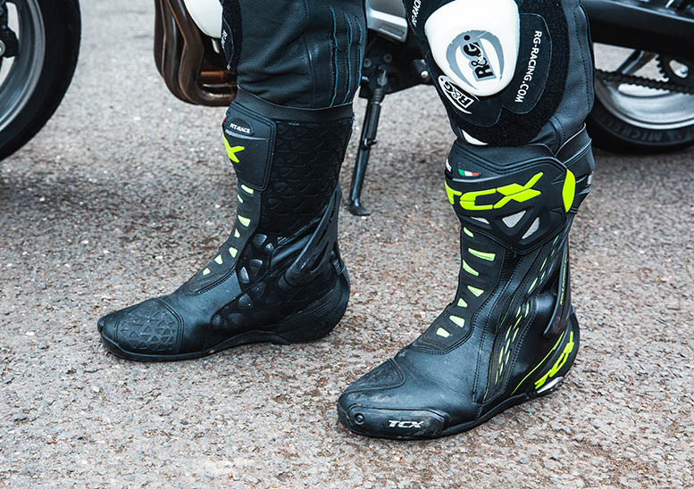 TCX RT-Race motorcycle boots review