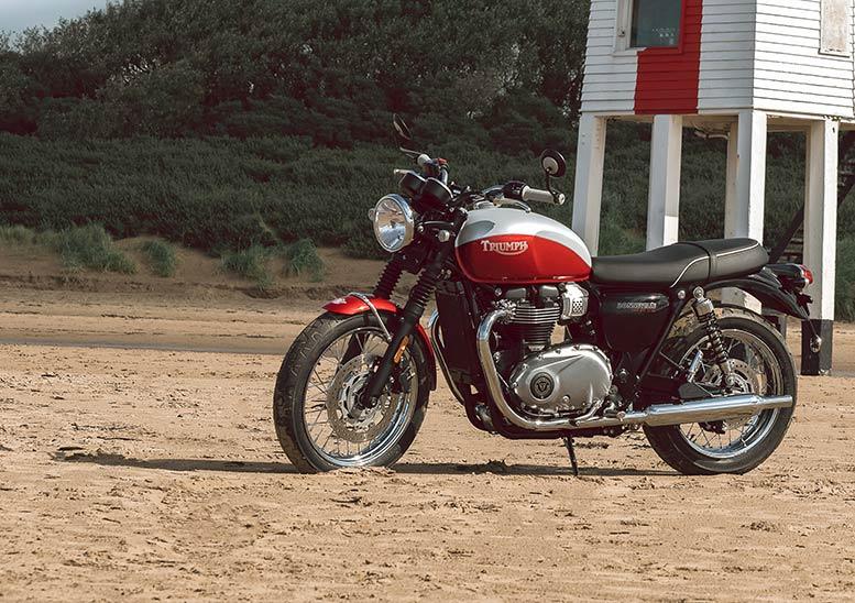 Triumph Bonneville T100 Bud Ekins