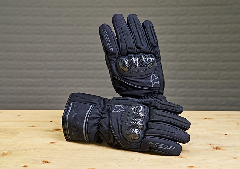 Wolf Fortitude CE textile gloves