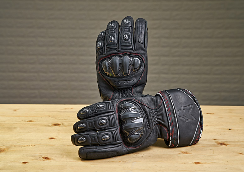 Wolf Titanium Outlast CE textile gloves