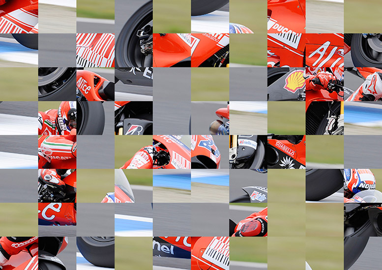 Can you name this scrambled racing legend? It's the SBS Mag quiz