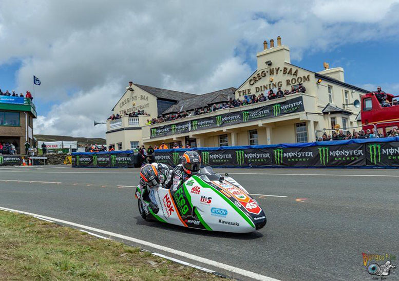 Five minutes with... a sidecar racer