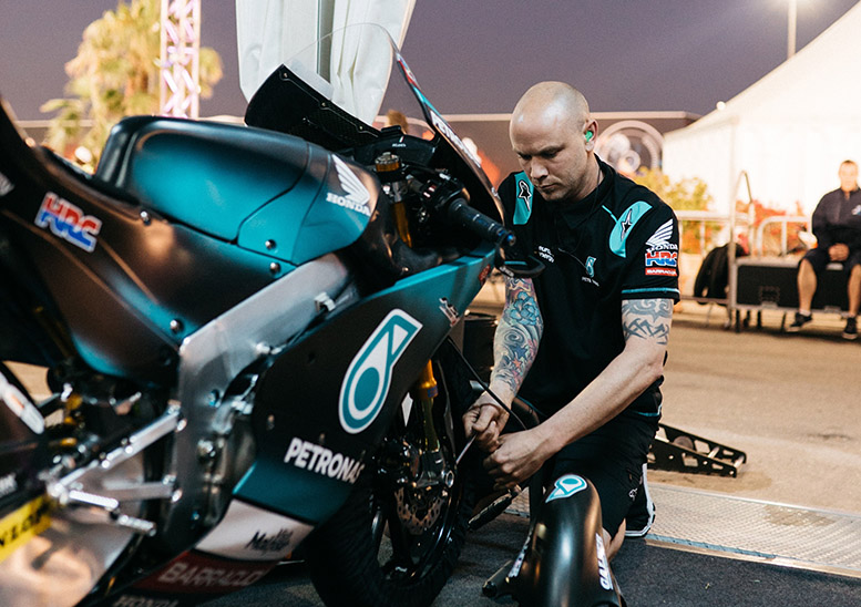 Five minutes with... a Moto3 mechanic