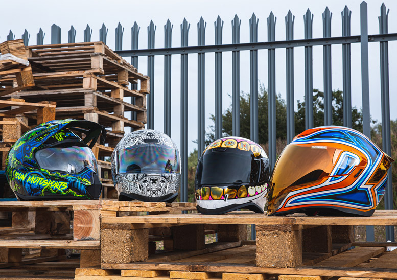 Introducing... Icon's autumn 2020 helmet collection