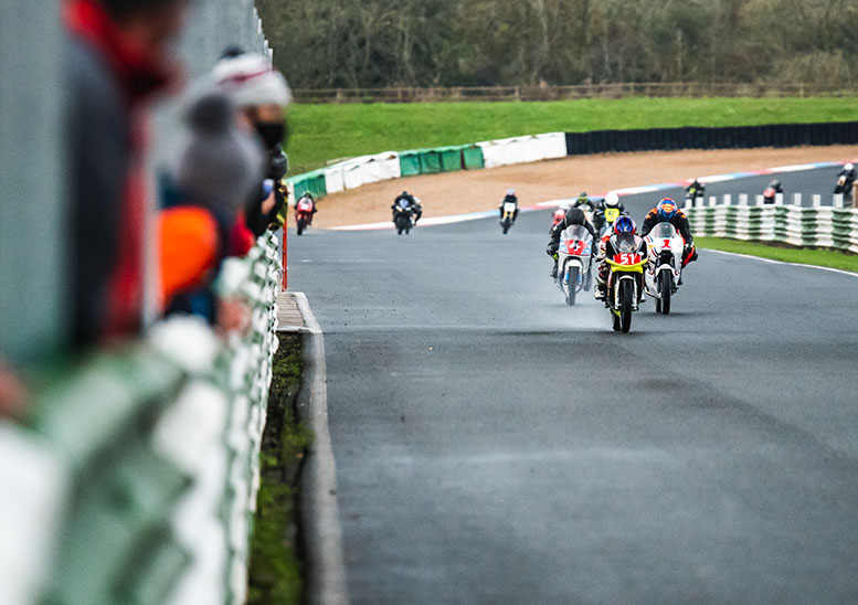 FAB Racing's team of young guns (51) flew to second place overall on their 50cc two-stroke