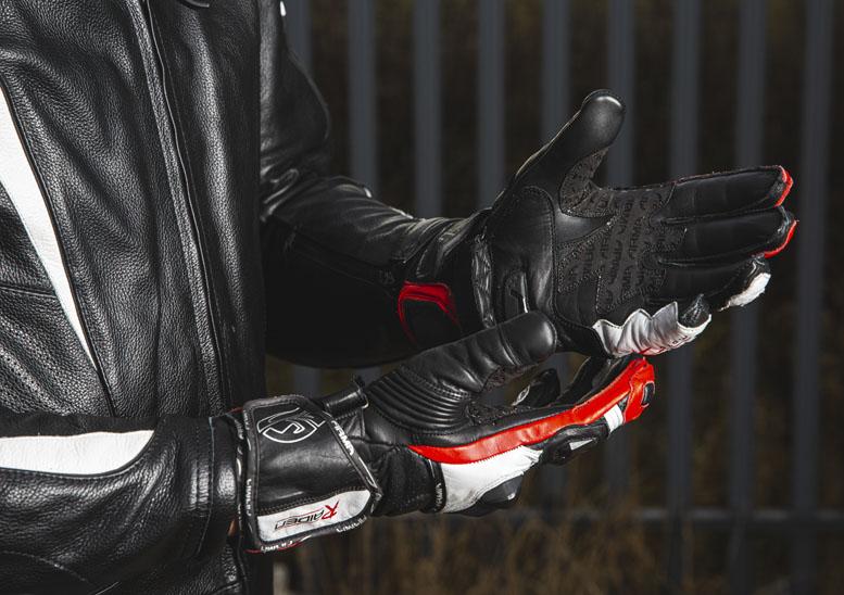 ARMR Moto Raiden leather gloves